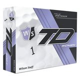WILSON STAFF TRUE DISTANCE WOMEN- 1 DUTZEND - WEISS