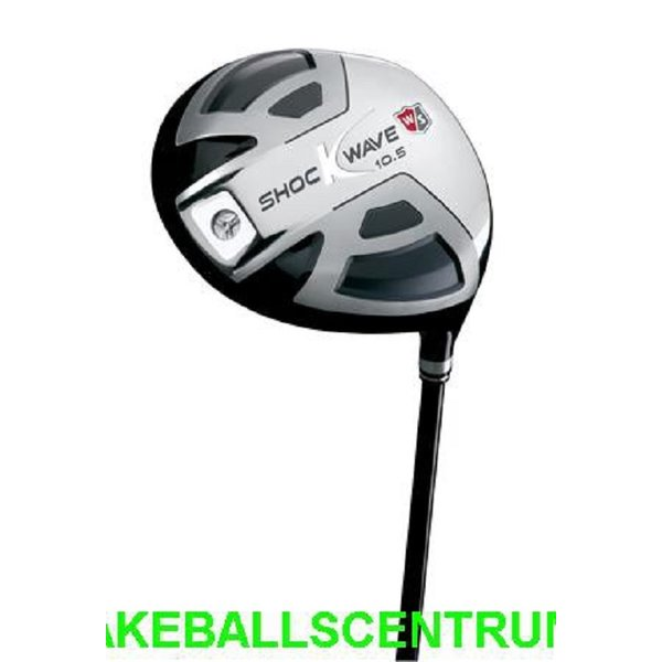 Wilson Staff Shockwave Driver 2011 RH Regular 10.5°  Shock Wave
