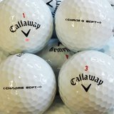 Callaway Chrome Soft weiss AAAA / AAA Lakeballs