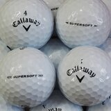 Callaway Supersoft weiss AAAA Lakeballs