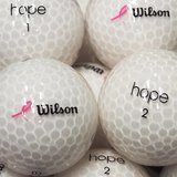 Wilson Hope weiss Premium Selection Lakeballs