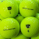 Wilson Staff TD Soft gelb Premium Selection Lakeballs