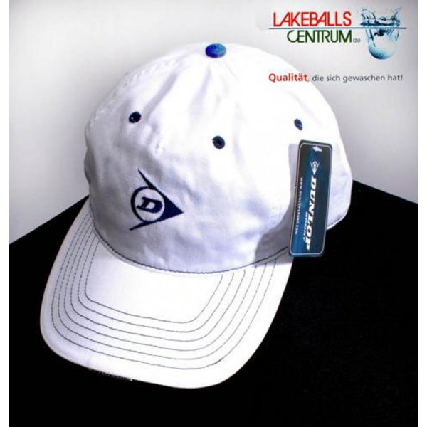 Dunlop Base Cap weiss one size